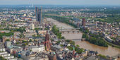 Frankfurt am main - panorama — Foto de Stock