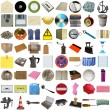 Many objects isolated — Stock Photo #32515365