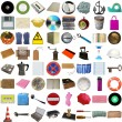 Many objects isolated — Stock Photo #32515815