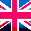 UK flag — Foto de Stock