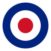 RAF flag — Stock Photo