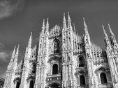 米兰的大教堂, — 图库照片