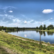 Stock Photo: Elbe river