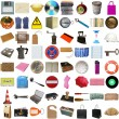 Many objects isolated — Stock Photo #32616049