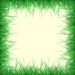 Grass frame — Stock Photo