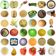 Food collage isolated — Stock Photo #32617089