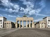 Brandenburger Tor, Berlin — Zdjęcie stockowe