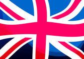 Bandiera del regno unito — Foto Stock
