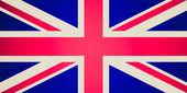 Retro look UK Flag — Stock Photo