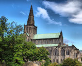 Glasgow cathedral - HDR — Stock Photo