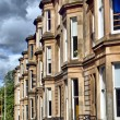 Terraced Houses - HDR — Stock Photo