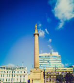 Retro looking Scott monument, Glasgow — Stockfoto