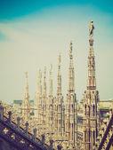 Milán, italia, look retro — Foto de Stock