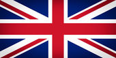 UK Flag vignetted — Stock Photo