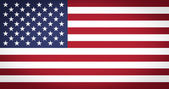 Flag of the USA vignetted — Stock Photo