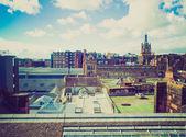 Retro looking Glasgow picture — Stock Photo