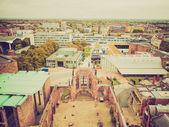 Retro look City of Coventry — Stock Photo