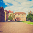Retro look Altes Schloss (Old Castle) Stuttgart — Stock Photo #33070315