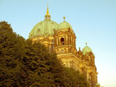 Retro looking Berliner Dom, Berlin — Stock Photo