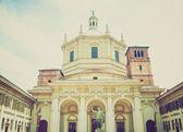 Retro look San Lorenzo church, Milan — Stock Photo