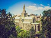 Catedral de glasgow de aspecto retro — Foto de Stock