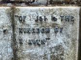 Cementerio de glasgow - hdr — Foto de Stock