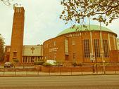 Retro looking St Catherine, Birmingham — Stock Photo