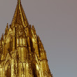 Retro looking Koeln Dom — Stock Photo