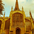 Постер, плакат: Retro looking Holy Trinity Church Coventry