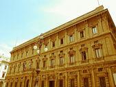 Retro looking City Hall, Milan — Stock Photo