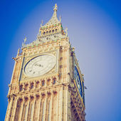 Vintage look Big Ben London — Stock Photo
