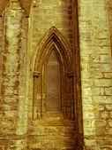 Retro look Glasgow cathedral — Stock Photo