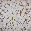 Stock Photo: Polystyrene beads background