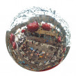 Disco mirror ball — Foto Stock