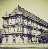 Vintage sepia Romish Germanisches Zentralmuseum Mainz — Stock Photo