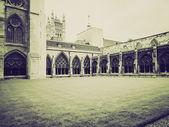 Abadía de westminster sepia Vintage — Foto de Stock