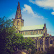 Stock Photo: Retro looking Glasgow cathedral