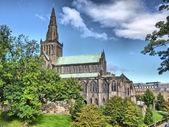 кафедральный собор глазго - hdr — Стоковое фото