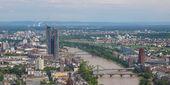 Frankfurt am Main - panorama — Stock Photo