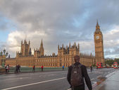 Westminster Bridge London — Stock Photo
