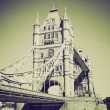 Vintage sepiTower Bridge London — Stock Photo #37306629