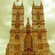 Retro looking Westminster Abbey — Stock Photo #37371471