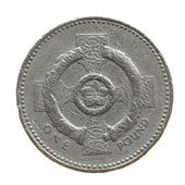 Coin isolated — Stock Photo