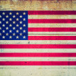 retro-look usa vlag — Stockfoto #37689621
