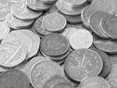 英ポンドの硬貨 — ストック写真