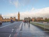 Westminster Bridge London — Stock Photo