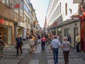 Koeln high street — Stock Photo