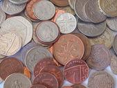 英国英镑硬币 — 图库照片
