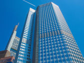 European Central Bank in Frankfurt — Stock Photo