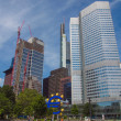 Постер, плакат: European Central Bank in Frankfurt